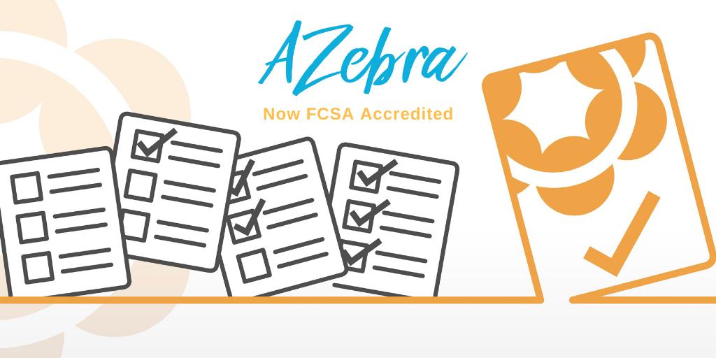 AZebra FCSA Accredited Member